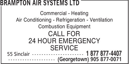 Ads Brampton Air Systems Ltd