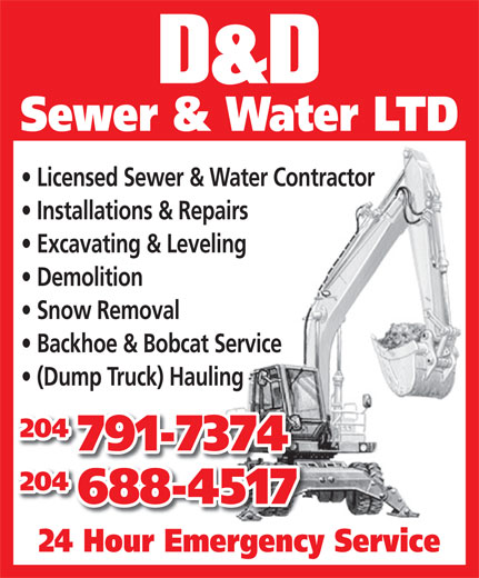 Ads D&D Sewer & Water Ltd