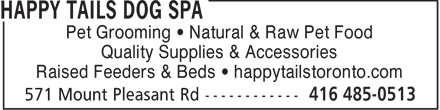 Ads Happy Tails Dog Spa