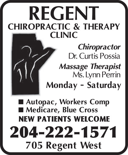 Ads Regent Chiropractic Therapy Clinic