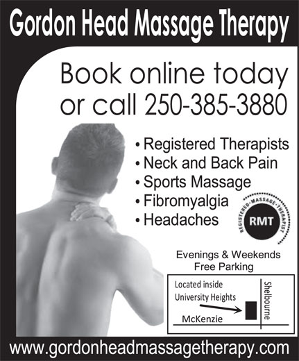 Ads Gordon Head Massage Therapy