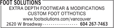 Ads Foot Solutions