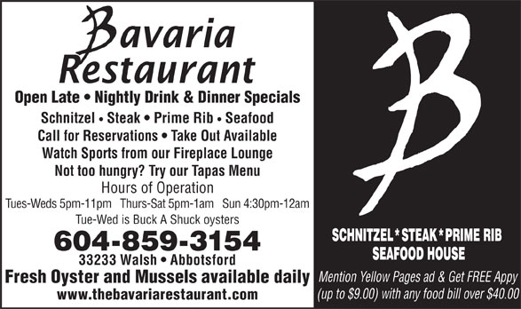 Ads Bavaria Restaurant