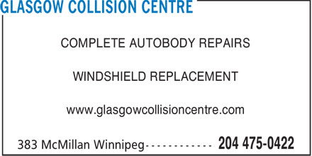 Ads Glasgow Collision Centre