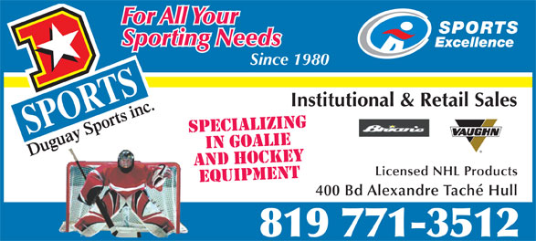 Ads Duguay Sports Inc