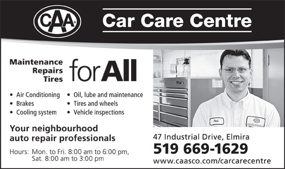 Ads CAA Car Care Centre