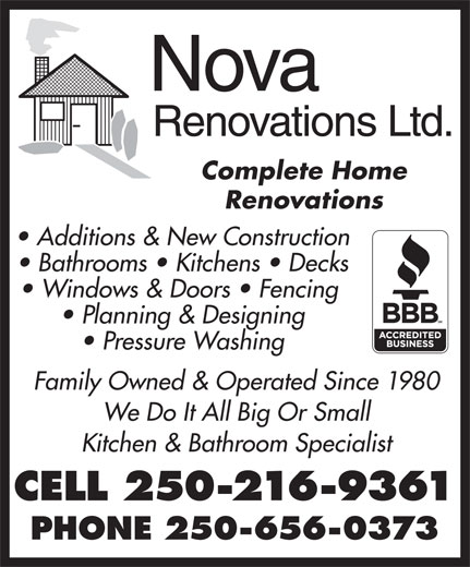 Ads Nova Renovations Ltd