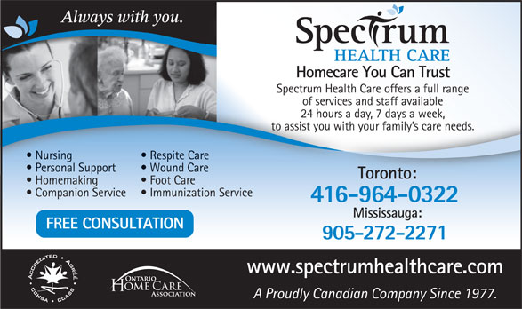 Ads Spectrum Health Care
