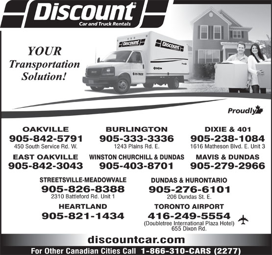 Ads Discount Car and Truck Rentals
