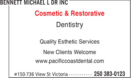 Ads Bennett Michael L Dr Inc