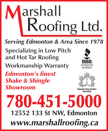 Ads Marshall Roofing Ltd