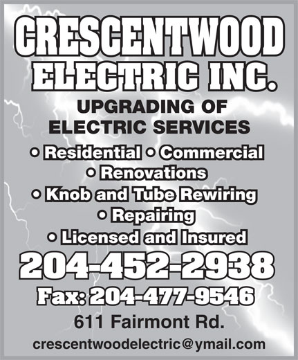 Ads Crescentwood Electric