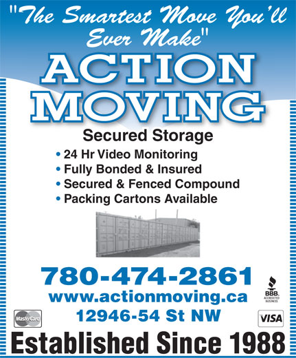 Ads Action Moving & Storage