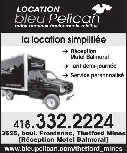 Ads Blue Pelican Car & Truck Rentals