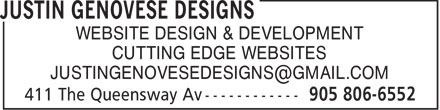 Ads Justin Genovese Designs