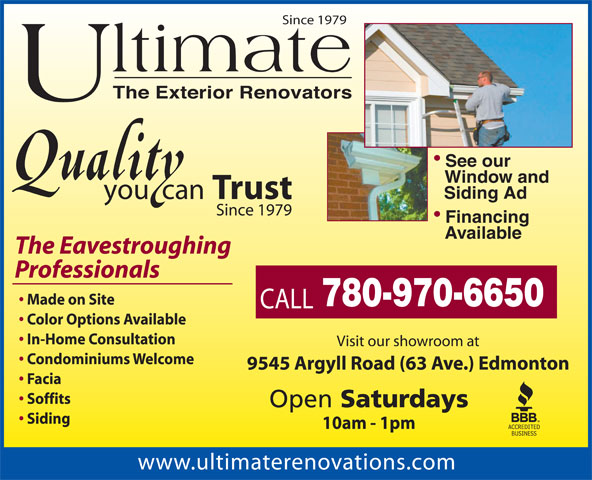 Ads Ultimate &#039;The Exterior Renovators&#039;