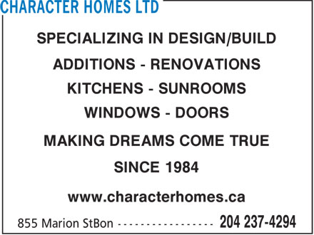 Ads Character Homes Ltd