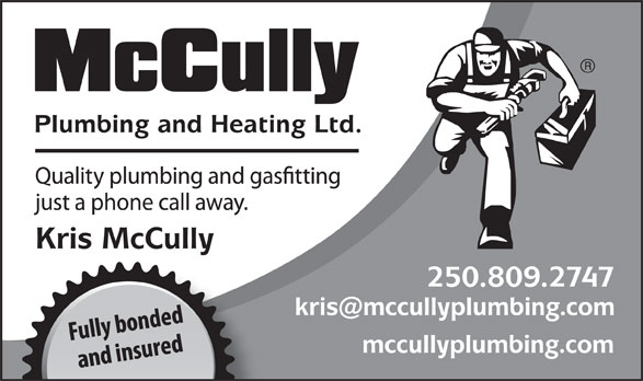 Ads McCully Plumbing & Heating Ltd