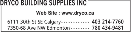 Ads Dryco Building Supplies Inc