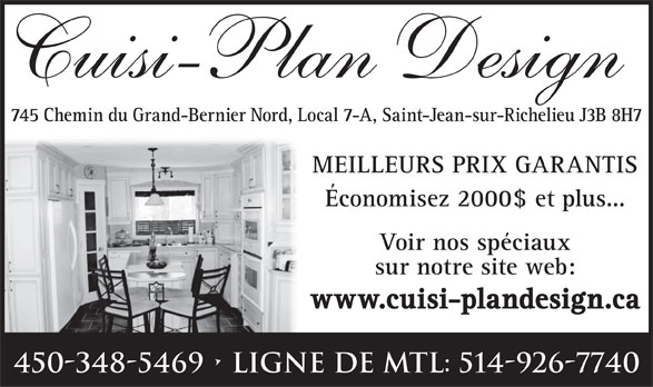 Ads Cuisi-Plan Design