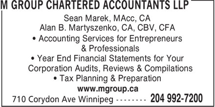 Ads M Group Chartered Accountants LLP