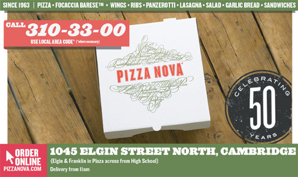 Ads Pizza Nova