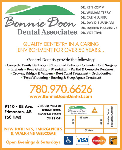 Ads Bonnie Doon Dental Associates