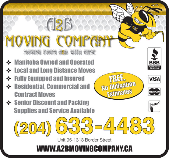 Ads A2B Moving Company
