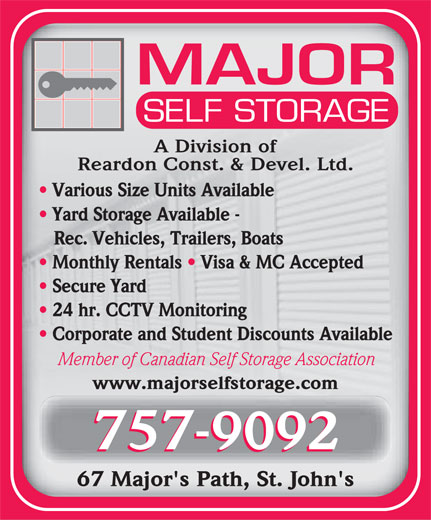 Ads Major Self Storage