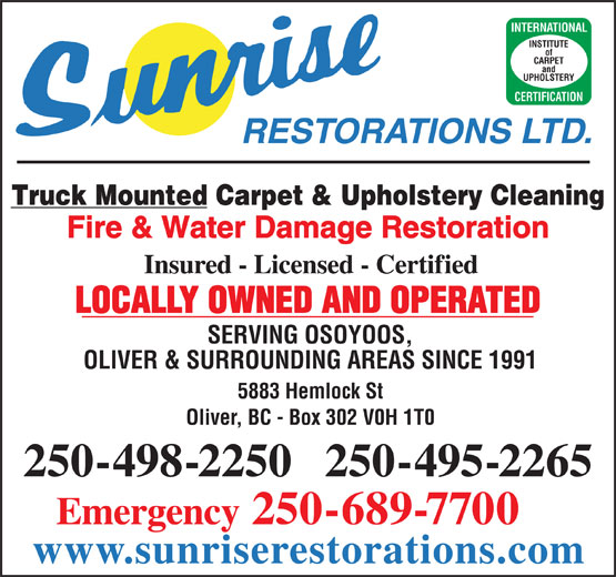 Ads Sunrise Restorations Ltd