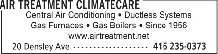 Ads Air Treatment Climatecare