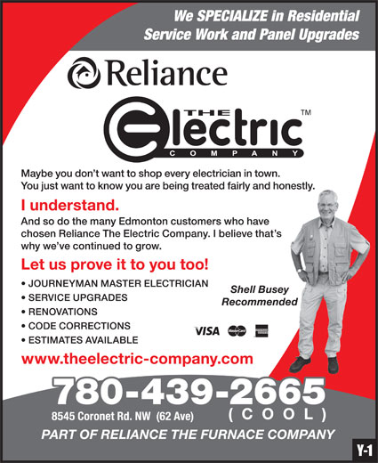 Ads Reliance The Electric Company
