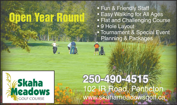 Ads Skaha Meadows Golf Course