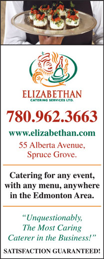 Ads Elizabethan Catering Services