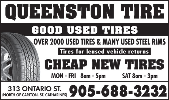 Ads Queenston Tire & Rim