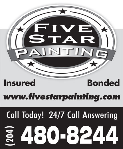 Ads Five Star Painting Contractors