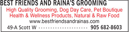 Ads Best Friends &amp; Raina&#039;s Grooming