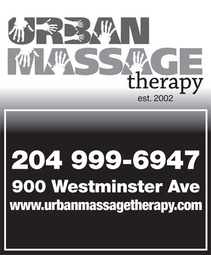 Ads Urban Massage Therapy