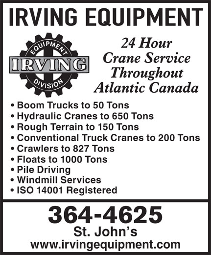 Ads Irving Equipment