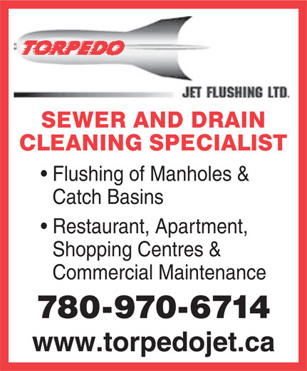 Ads Torpedo Jet Flushing Ltd