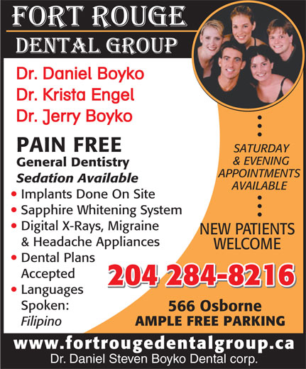 Ads Fort Rouge Dental Group