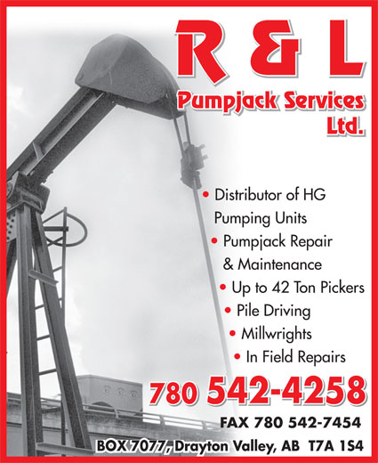 Ads R & L Pumpjack Services Ltd