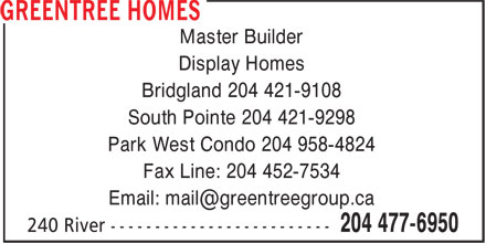 Ads Greentree Homes