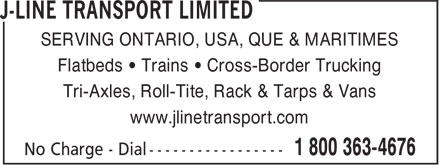 Ads J-Line Transport Limited