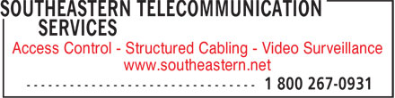 Ads Southeastern Telecommunication Services