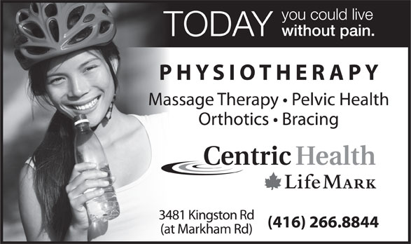 Ads LifeMark Physiotherapy