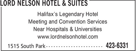 Ads Lord Nelson Hotel & Suites