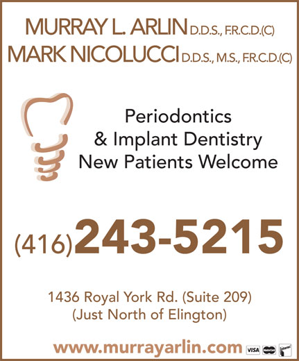Ads Arlin Murray L Dr Periodontist