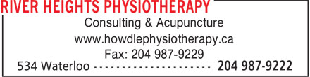 Ads River Heights Physiotherapy