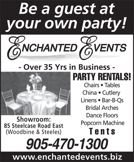 Ads Enchanted Events